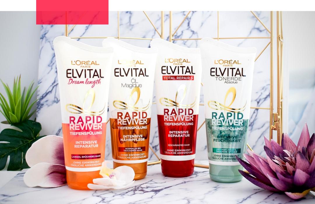 L'Oréal Paris Elvital Rapid Reviver Tiefenspülung / Erfahrung