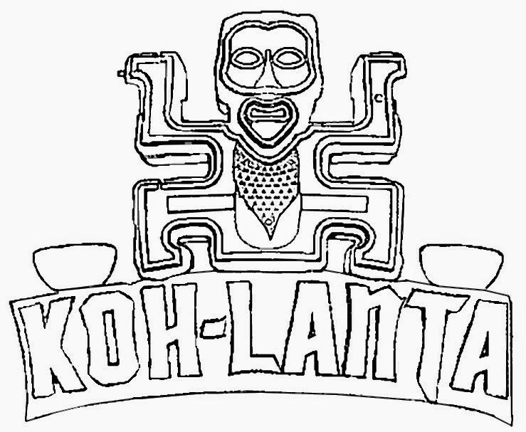 Anniversaire Koh Lanta Activités Pinterest - dessin de maison facile