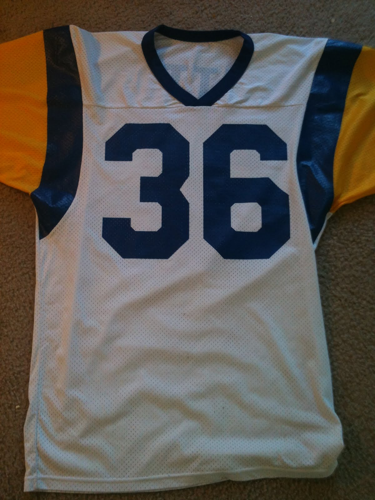 brand new 49cf5 36ce9 Vintage10916 Store: Vintage Jerome Bettis Los Angeles Rams ...