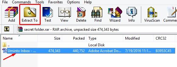 computer me folder lock krna