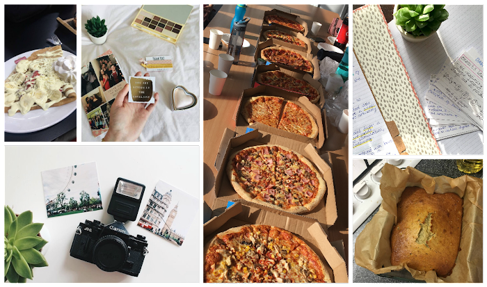 A lifestyle roundup of my week at university featuring all I've bought, watched, eaten, seen and been up to. Featuring banging banana bread, a dominos feast and another sprinkles
