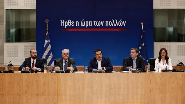 Α. Τσίπρας: Τώρα ήρθε η ώρα οι θυσίες του ελληνικού λαού να αρχίσουν να δικαιώνονται