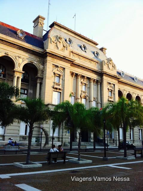 Santa Fé - Casa de Gobierno, situada na Praza 25 de Mayo