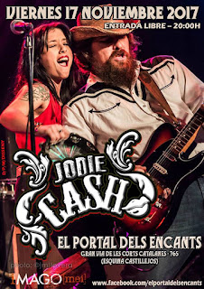 Jodie Cash Barcelona