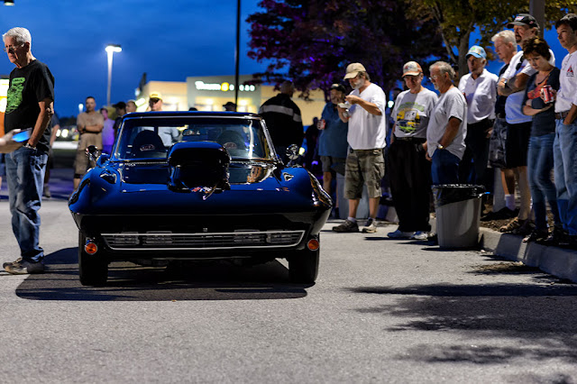 Featured Ride of the night at the Home Depot Cruise-In