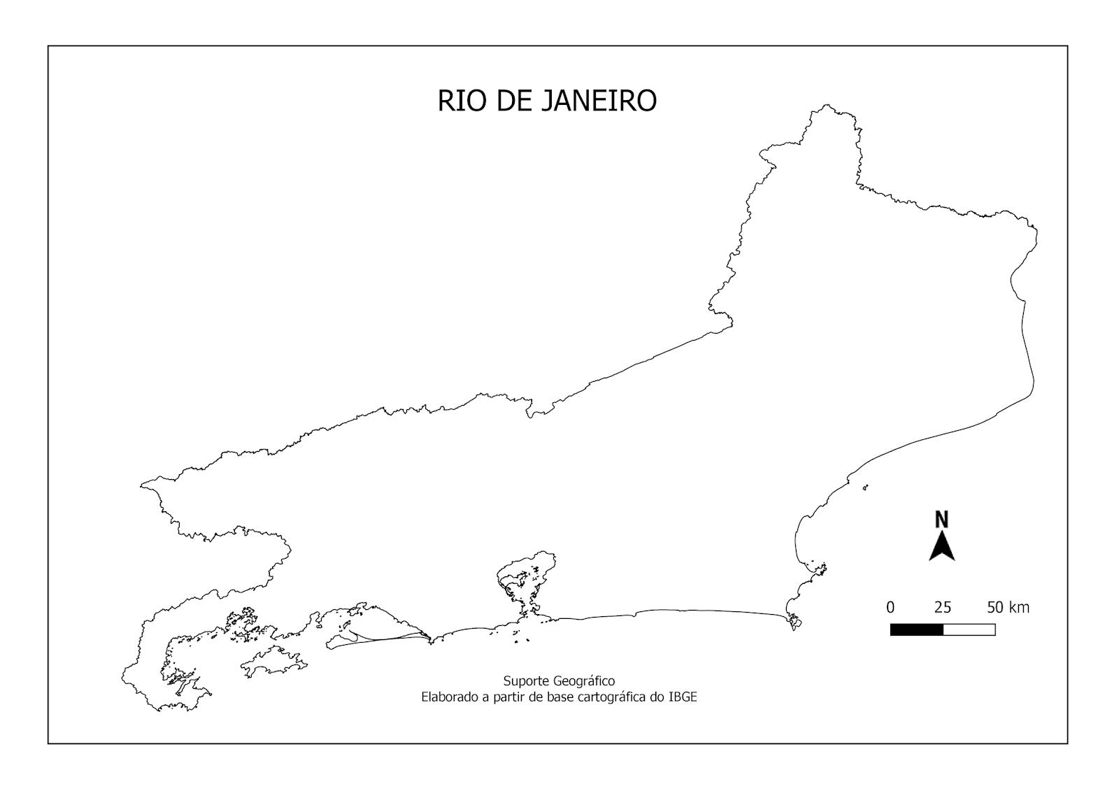 Rio De Janeiro Mapa Png.Mapas Para Colorir Rio De Janeiro Suporte Geografico