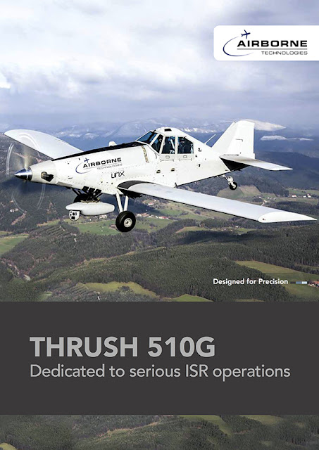 Image Attribute: Airborne Technologies brochure featuring the modified Thrush 510G.  Photo: Airborne Technologies