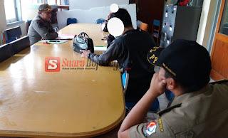 Lagi-Lagi Satpol PP Temukan Pasangan Diduga Mesum di Kamar Kos