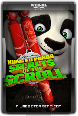 Kung Fu Panda Segredos do Pergaminho Torrent HDRip Dual Áudio 2016