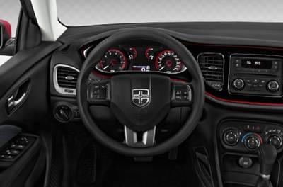 2018 dodge dart rallye interior