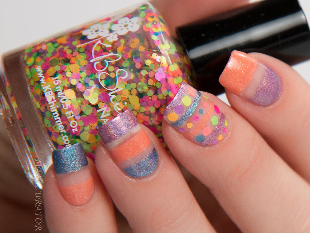 KBShimmer Spring 2016 Glitters and Holos Swatch, Review and Nail Art ...