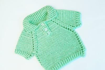 6 - Crochet IMAGEN Jersey de niño y niña a crochet muy facil y rapido