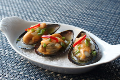 Lemon Jalapeño Marinated Mussels – Definitely My First or Second Favorite Way to Eat Mussels
