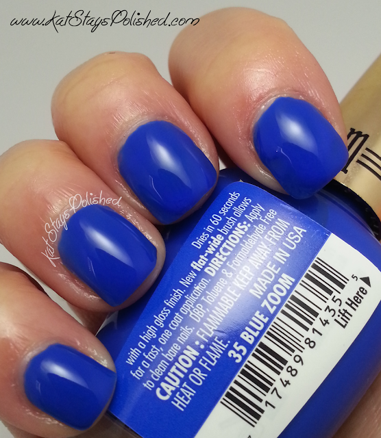 Milani High Speed Fast Dry - Blue Zoom