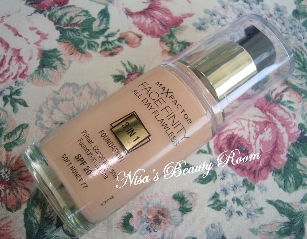 Review Max Factor Facefinity All Day Flawless 3-in-1 Foundation
