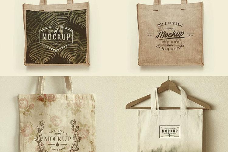 3 Free Bag Mockup Templates