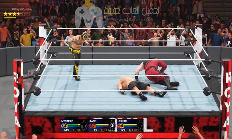 تحميل لعبة المصارعة WWE 2K19 برابط مباشر وحجم صغير