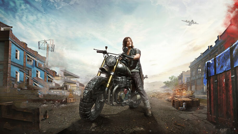 Pubg X Walking Dead Daryl Dixon Skin 4k Wallpaper 51160