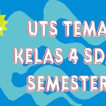 Tema 3   Soal Latihan UTS Kelas 4 Subtema 1 Semester 1 K13