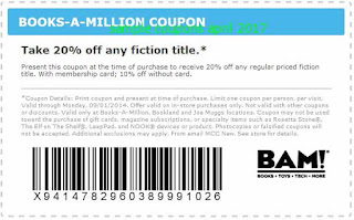 free Books A Million coupons for april 2017
