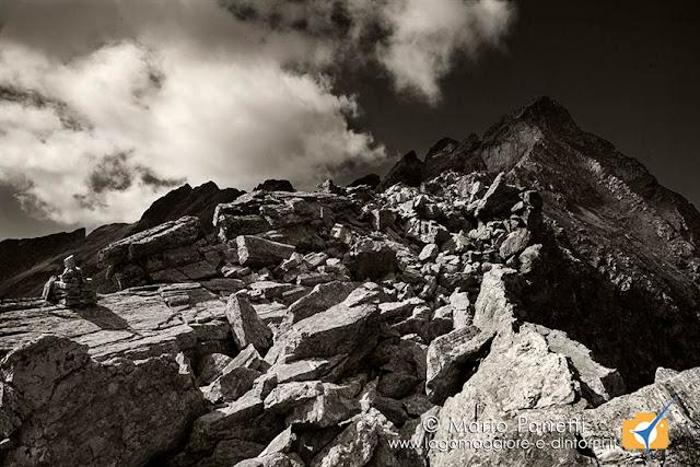 Passo di Paione in bianco e nero