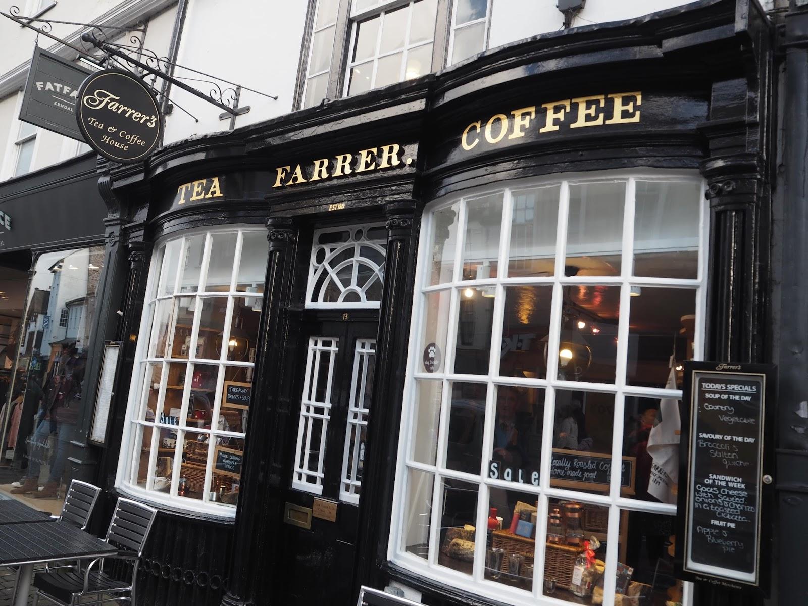 Independent cafe, Kendal