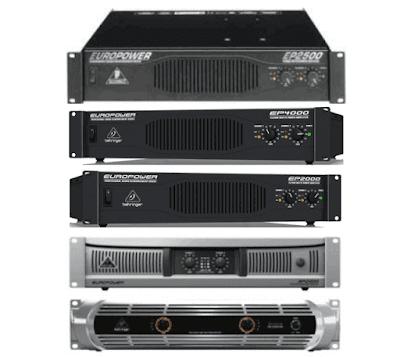Power Amplifier Behringer