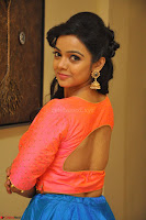 Nithya Shetty in Orange Choli at Kalamandir Foundation 7th anniversary Celebrations ~  Actress Galleries 069.JPG