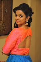 Nithya Shetty in Orange Choli at Kalamandir Foundation 7th anniversary Celebrations ~  Actress Galleries 069.JPG
