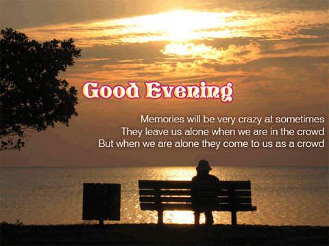 Good Evening Hindi Shayari With Images Evening Sms Photos
