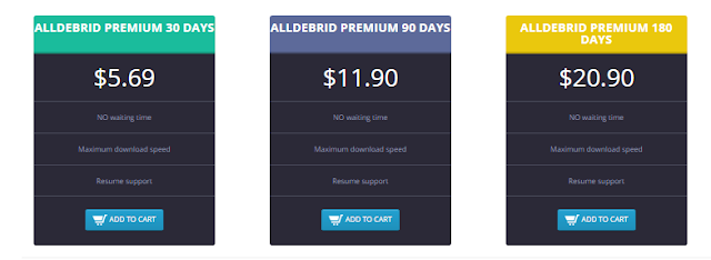 How to activate Alldebrid Premium Voucher after buy file share