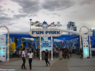 Blue Paradise Fest, Chaweng Lake, fun park
