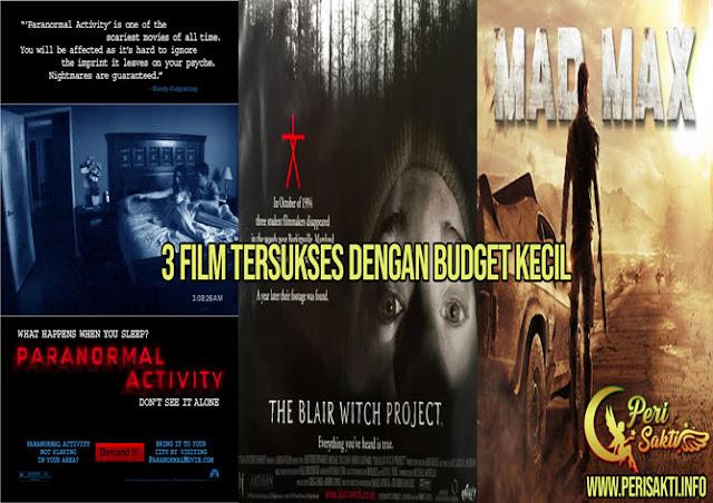 3 Film Tersukses Dengan Budget Kecil