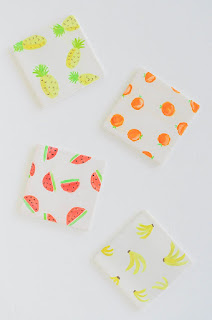 fruit coaster craft