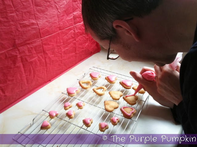 Valentine's Day Baking Date | The Purple Pumpkin Blog