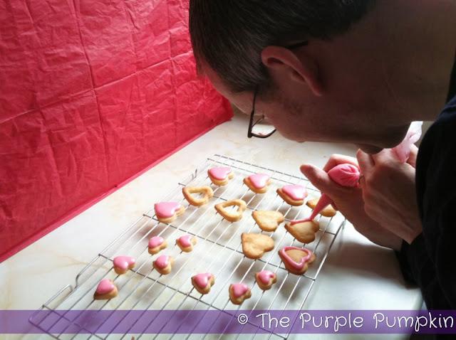 Valentine's Day Baking Date | The Purple Pumpkin Blog