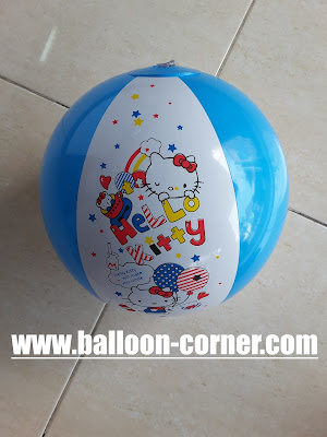 Bola 516 Sablon Hello Kitty