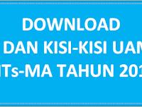 DOWNLOAD POS DAN KISI-KISI UAMBN MTS-MA K13 TAHUN 2017
