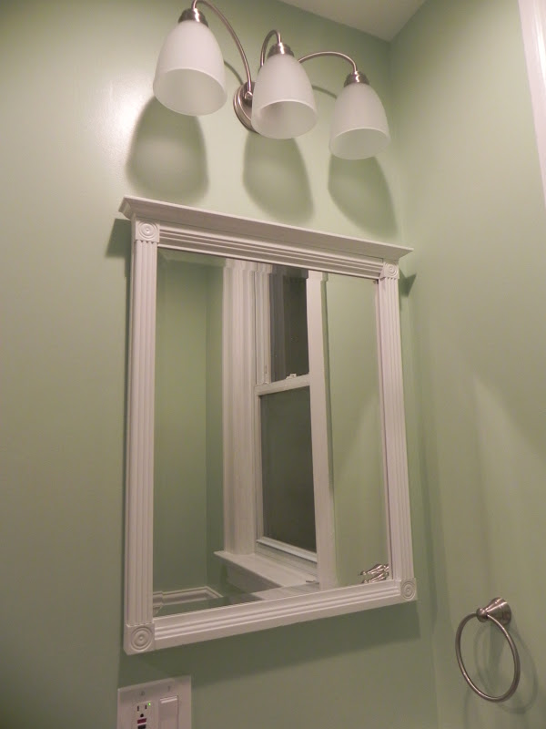 Beveled Mirror Bathroom The Bailey Blog Home Improvements In Pittsburgh