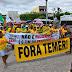 Protesto contra a Reforma da Previdência paralisa o transito e a feira livre de Ipirá