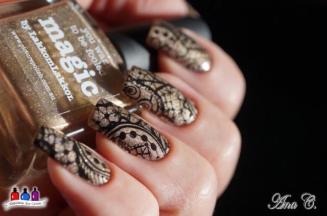 Picture Polish Magic, Whats up Nails, A001, rose gold nail polish