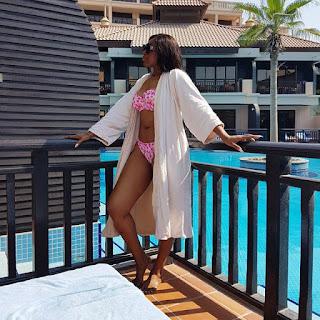 Ebube Nwagbo shares bikini photos