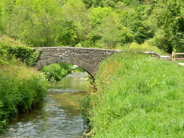 Old bridge, Pentewan Trail, Cornwall