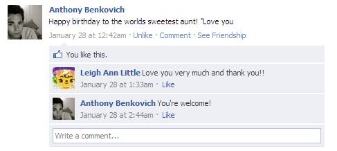 Rest in Peace Anthony Benkovich
