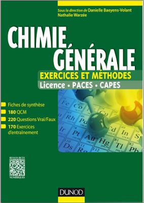 Télécharger Livre Gratuit Chimie générale, Exercices et méthodes - Tout le cours en fiches pdf