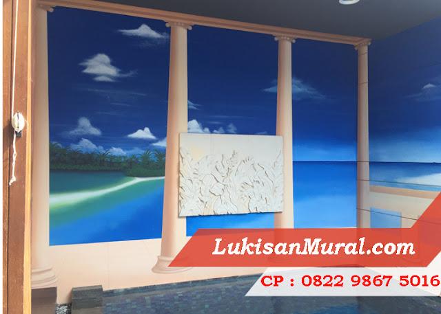 Gambar Mural 3 Dimensi