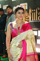 Sneha Looks Super cute in Red Silk Saree at IIFA Utsavam Awards 010.JPG