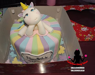 Kue Tart Karakter Little Unicorn