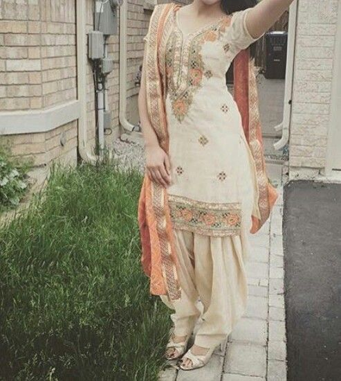 Beautiful Girl in Punjabi suit