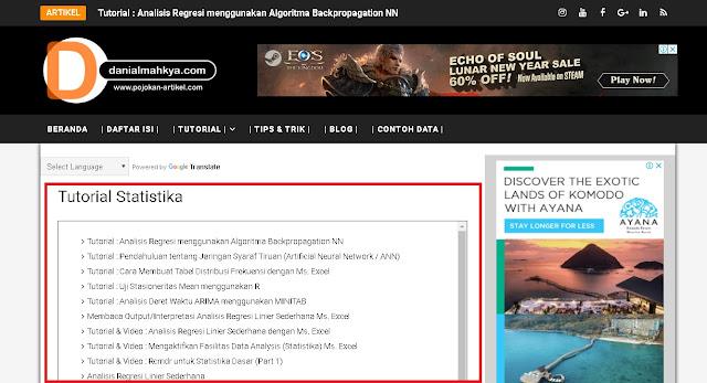 Tips & Trik : Cara Membuat Halaman Blogspot dengan Label Tertentu